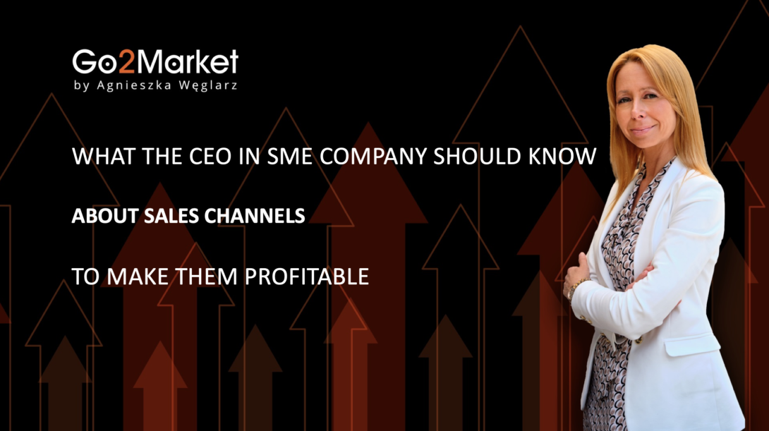 sales channels management in SME companies