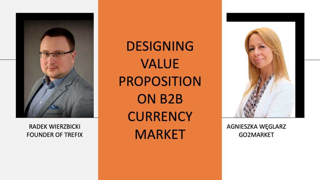 Value proposition on a B2B currency market